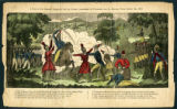"""A View of Col. Johnson's Engagement with the Savages (commanded by Tecumseh) near the..."