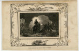 Scene of night action on December 23, 1814