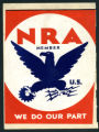 National Recovery Administration poster