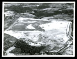 Aerial photograph of Chattanooga airport under construction