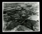 Aerial photograph of the Clarksville airport under construction
