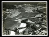 Aerial photograph of Jellico airport under construction