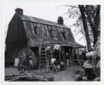 "Film set for the Garth family homestead in ""Wild River"""