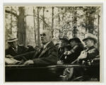 Congressman Joseph W. Byrns, President Franklin D. Roosevelt, Eleanor Roosevelt, and Governor Hill...