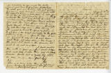 Letter from Oliver Caswell King to Katherine Rebecca Rutledge