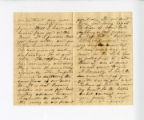 Letter from Oliver Caswell King to Katherine Rebecca Rutledge King, Page 2 and 3