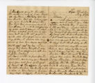 Letter from Oliver Caswell King to Katherine Rebecca Rutledge King