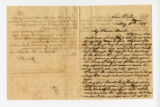 Letter from Oliver Caswell King to Katherine Rebecca Rutledge King, Pages 1 and 4