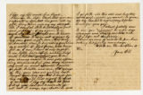 Letter from Oliver Caswell King to Katherine Rebecca Rutledge King, Pages 2 and 3