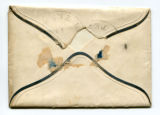 Envelope accompanying invitation from Katherine Rebecca Rutledge King to Oliver Caswell King...