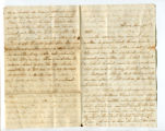 Letter from Katherine Rebecca Rutledge King to Oliver Caswell King, Page 1 and 4