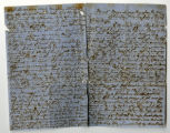 Letter from Leander Montgomery King to Penelope Louisa Massengill King, Page 1 and 4