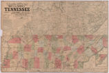 Lloyd's official map of the State of Tennessee (1863)
