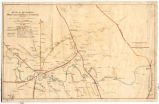Civil War map of the environs of Shelbyville, Wartrace and Normandy, Tennessee
