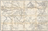 Civil War map of the country traversed by the Nashville and Northwestern Railroad and the...