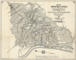 Map of Shiloh battlefield