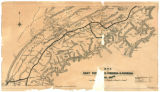 Map of East Tennessee, Virginia & Georgia Rail Road (1880)