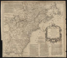 French dominions in North America from Mr. D'Anville (1760)