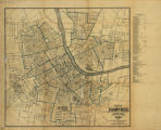 Map of Nashville, Tennessee, 1896