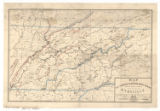 Map of East Tennessee and western North Carolina showing mineral deposits (1876)