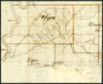 Map of Northwest Tennessee (approximately 1832)
