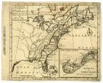 Map of British governments in North America (1763)