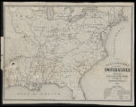 Railroad map of the United States (1851)