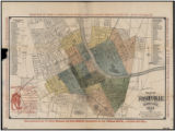 Map of Nashville Tennessee (1885)