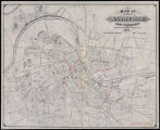 Map of the City of Nashville and vicinity (1879)