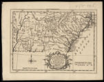 A new map of North & South Carolina, & Georgia (1765)