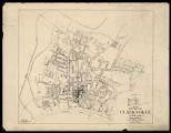 Map of the City of Clarksville Tennessee (1938)