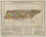 Geographical, statistical, and historical map of Tennessee (1822)
