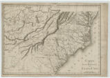 French map of early Southeastern United States