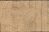 Civil War map of Middle and East Tennessee and parts of Alabama and Georgia