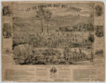 Let us Forgive but Not Forget, Sketch of Andersonville Prison, Stockade, and Hospital
