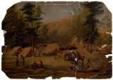 In camp near Shiloh