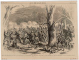 Storming of Fort Donelson - Decisive Bayonet Charge of the Iowa Second Regiment of the Rebel...