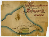 Plan of the military prison situated on Johnson's Island