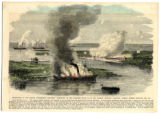 "Destruction of the Famous Confederate Privateer ""Nashville"""