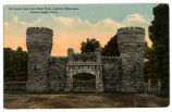 Entrance Gate into Point Park at Lookout Mountain