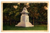 "Shiloh National Military Park, ""Alabama Monument"""