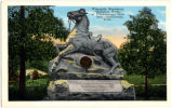 """Riderless Horse"" monument at Chickamauga Battlefield Park"