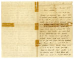 Letter of Sgt. Charles Ward, Co. E, 60th Ind. Inf. Regt., USA to his mother
