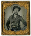 tintype of John Steele Neely, 9th Tenn. Inf. Regt., CSA