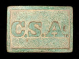 CSA rectangular belt plate