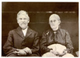 Copy print of Confederate veteran William Thompson and Rhoda Ann Thurman