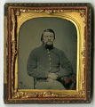 Tintype of Sgt. William H. White, Co. H, 14th Va. Inf. Regt., CSA