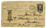 Envelope from the headquarters of the Grand Army of the Republic