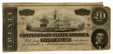 $20 Confederate note