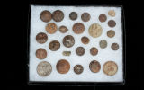 Buttons recovered from Morgan County, Tennessee.